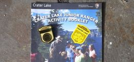 Junior Ranger activity booklet and badge