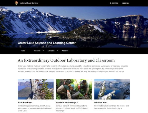 e6aa77b4556dc Science and Learning Center - Crater Lake National Park (U.S. ...