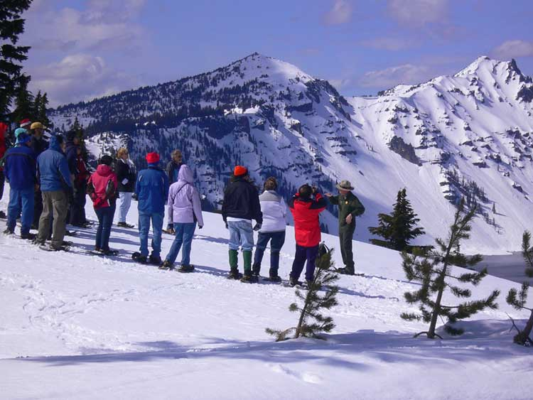 Ranger-Guided Snowshoe Walk
