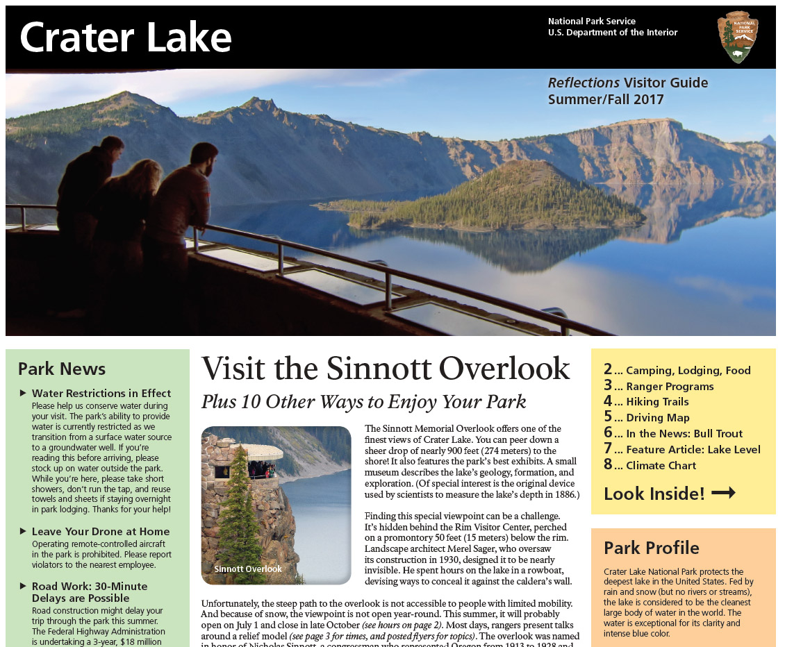 Cover of Summer 2017 Park Newspaper