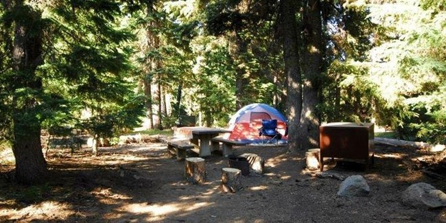 c0178354c65 mazama campground - Crater Lake National Park (U.S. National Park ...