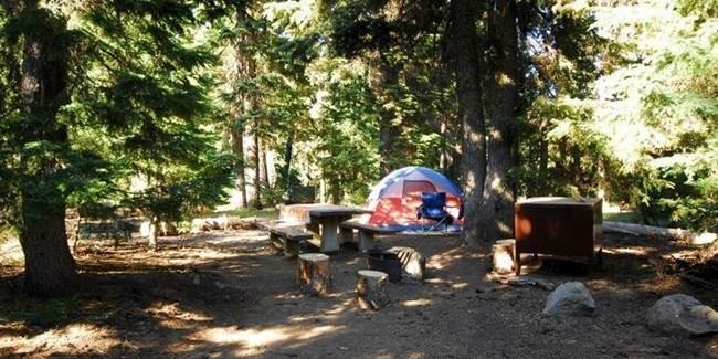 Mazamacampground Crater Lake National Park Us National Park