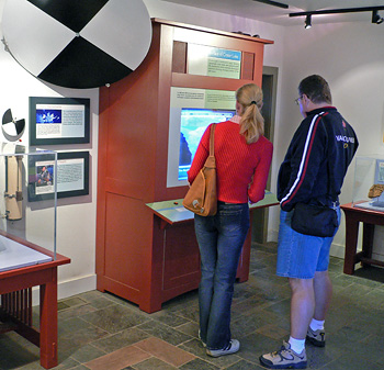Exhibits at the Sinnott Overlook