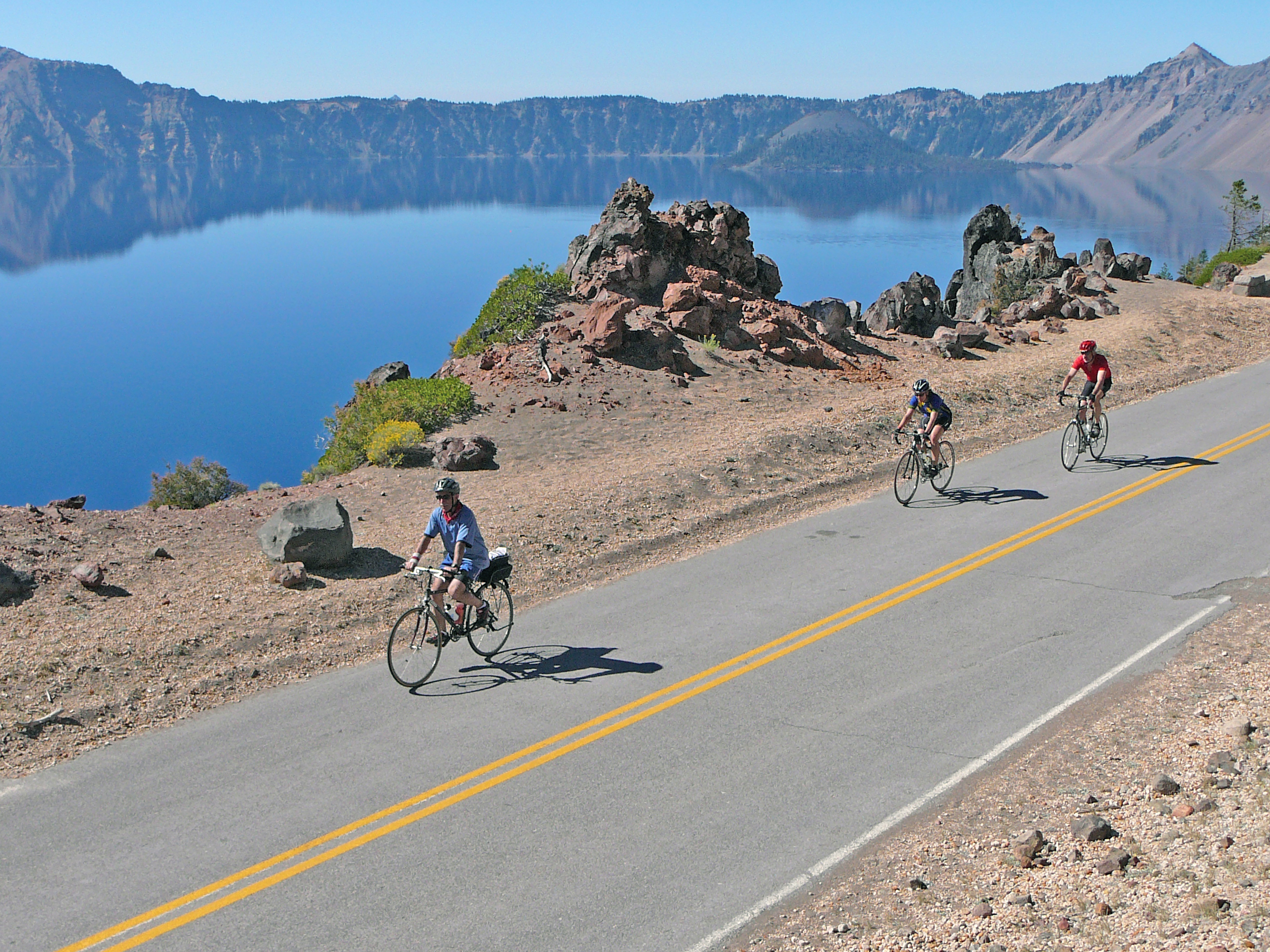 Bicycling - Crater Lake National Park (U S  National Park