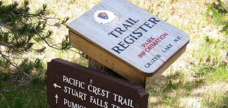 PCT Trail Register Box