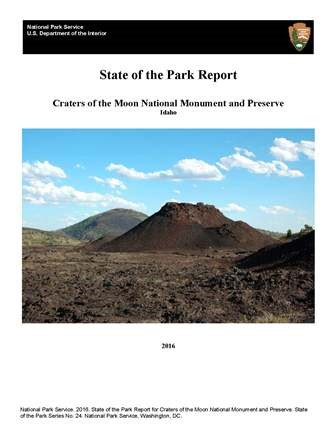cover of State of the Park report