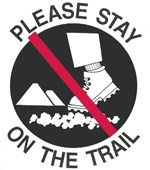 Please Stay on the Trail