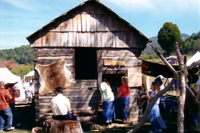 Living history event at Cumberland Gap National Historical Park