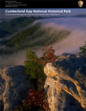 Cover of General Management Plan for Cumberland Gap National Historical Park