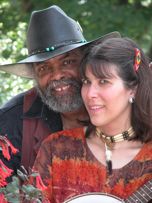 Musicians Sparky and Rhonda Rucker300