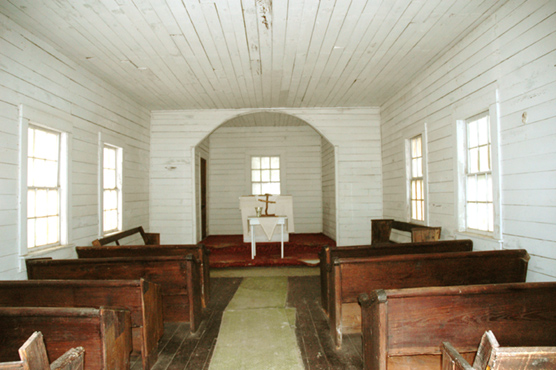 Interior of First African Baptist Church