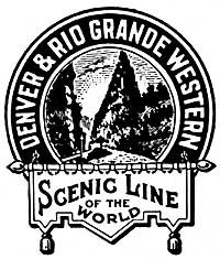 DRGW Scenic Line of the World logo