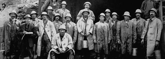 Gunnison Tunnel workers.