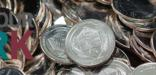 A pile of Homestead National Monument of America Quarters with