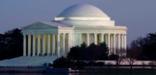 Thomas Jefferson Memorial evening shot