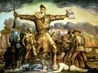 Small image of John Brown leading the anti-slavery moment in Kansas Territory before the Civil War.