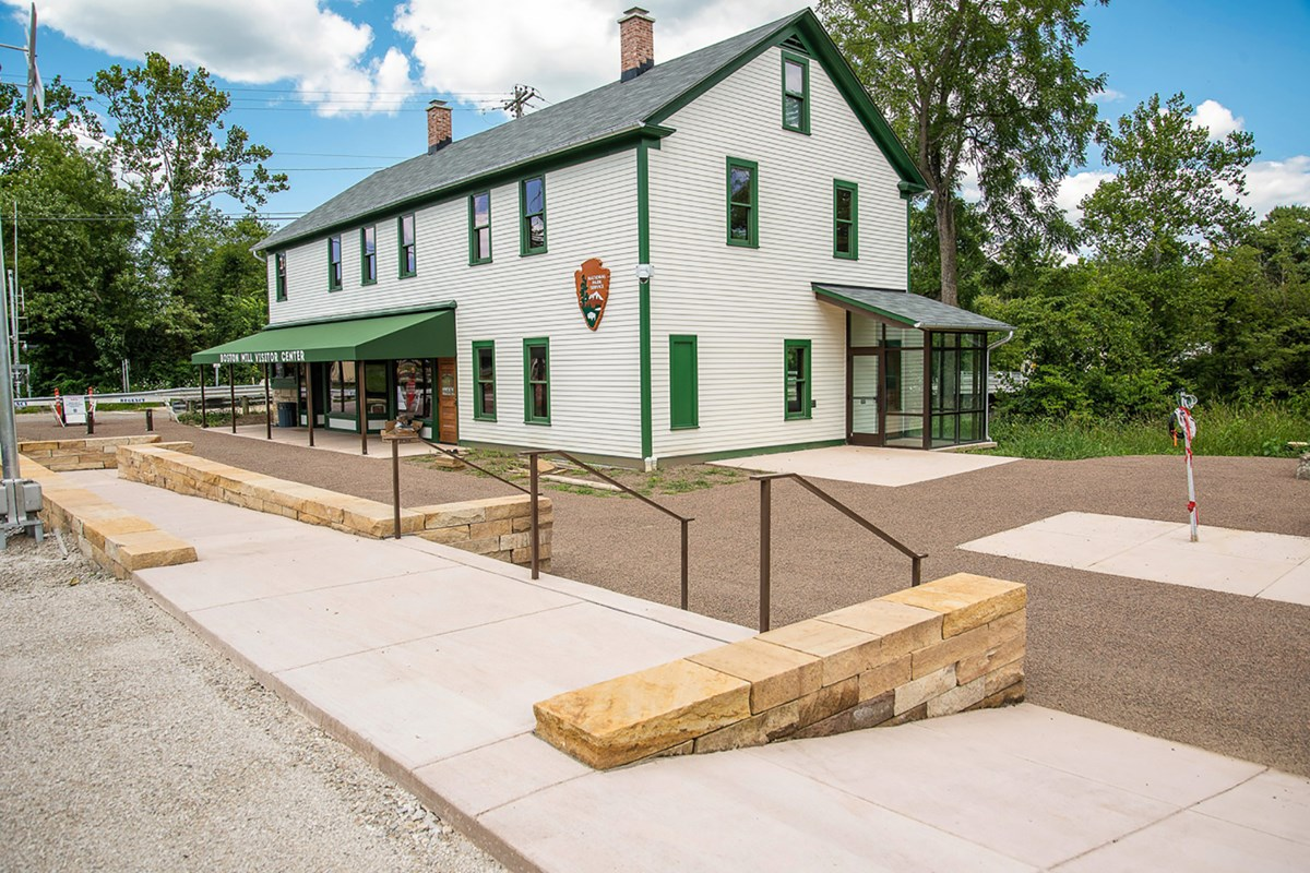 New Boston Mill Visitor Center