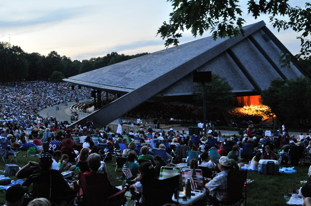 blossom music center turns 50 - cuyahoga valley national park (u.s.