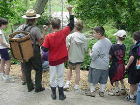 CVNP_Junior_Ranger_students_with_ranger_at_beaver_marsh2_