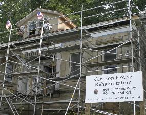 Gleeson House rehabilitation.