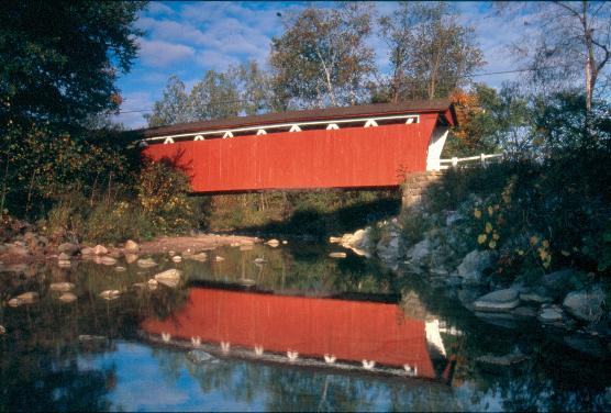 Everett Road Covered Bridge.