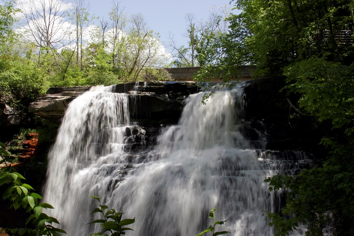 Brandywine Falls in the Summer Photo by Steve Paddon