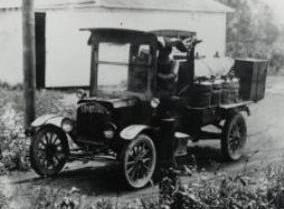 Standard Oil delivery truck