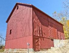 Lindley Barn after restoration.