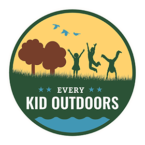 The logo for the Every Kid Outdoors program