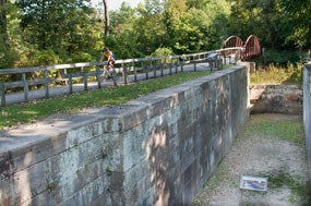 Lock 29 along the Ohio & Erie Canal
