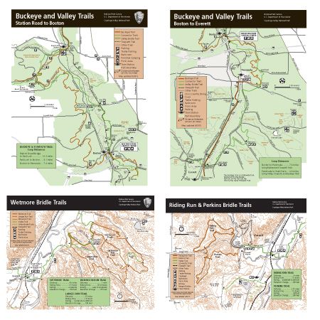 Bridle and Most Challenging Trails