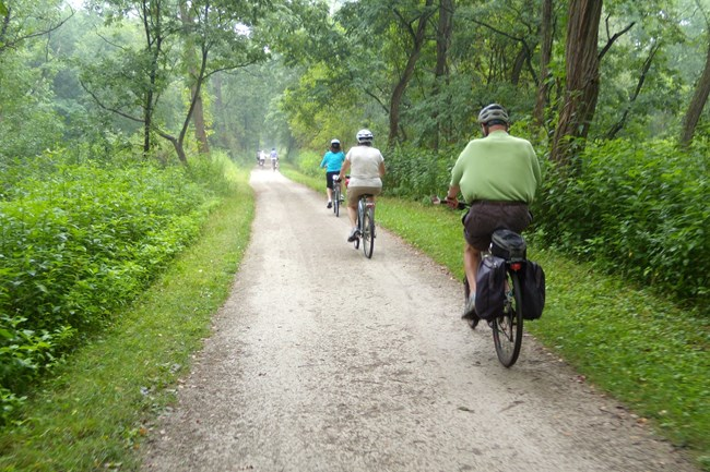 Biking In The Park Cuyahoga Valley National Park U S