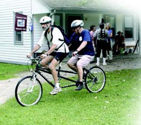Cleveland Sight Center Bike Rides occur in the summer at CVNP