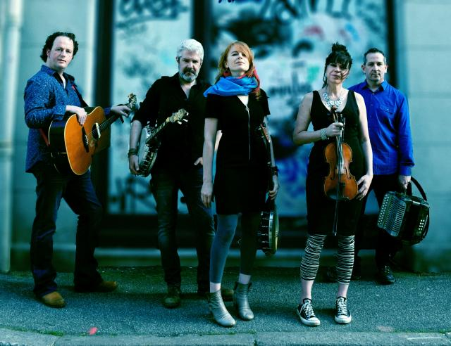 The Irish-American band Solas has been performing for twenty years.