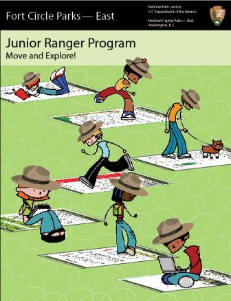 Fort Circle Parks - East Junior Ranger Booklet