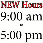 New Visitor Center Hours