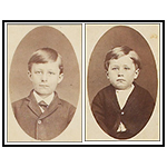 Orville and Wilbur as children