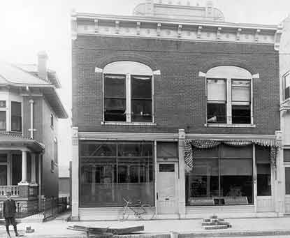 The Wright Cycle Company at 1127 West Third Street.