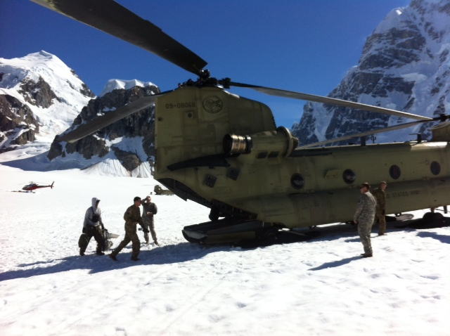Chinook camp extraction
