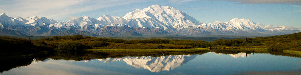 Image of Mount McKinley and the Alaska Range