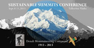 Logo for Sustainable Summits Conference