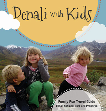 Cover of Denali with Kids--siblings dance and hug each other