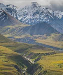 North of the Alaska Range
