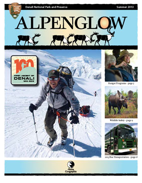 Cover of the Alpenglow, Summer 2013
