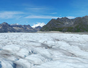 Lower Kahiltna Glacier