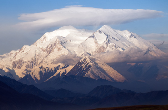 Mt. McKinley dominates the Alaska Range