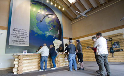 Denali's information hub is the Denali Visitor Center