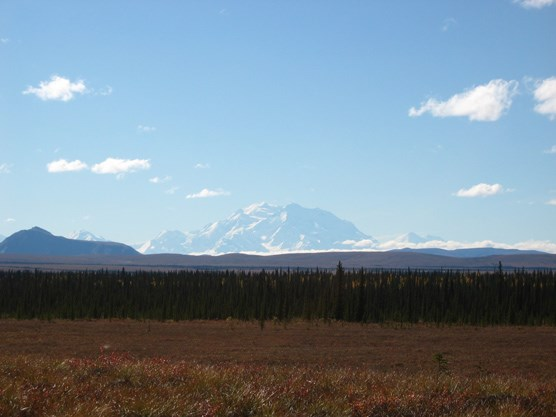 Mount McKinley, seen from the north end of unit 37
