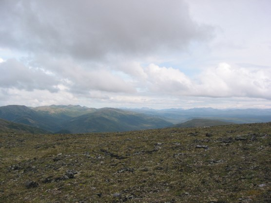 The Kantishna Hills, seen from Mt. Brooker