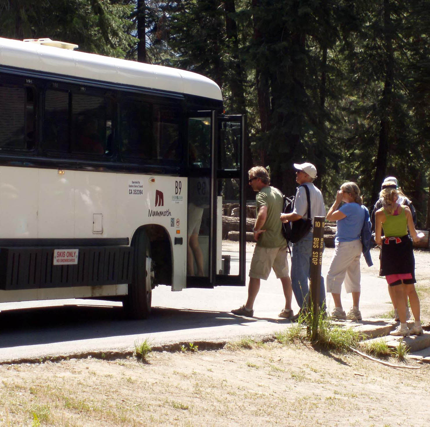 Reds Meadow Shuttle Bus